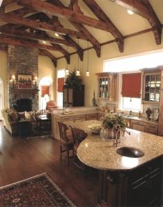leslie newpher interiors kitchen design