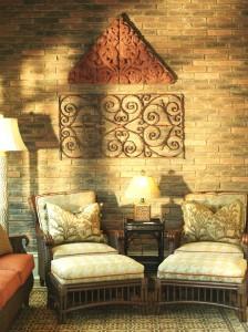 leslie newpher interiors outdoor living furniture